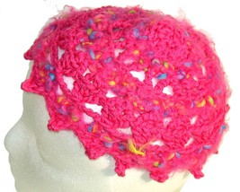 Pink Pixie Points Crochet Beanie Hat - €10,41 EUR
