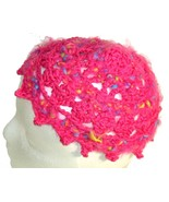 Pink Pixie Points Crochet Beanie Hat - $13.50