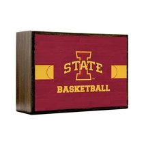 Inspired Home Iowa State University Cyclones - Basketball Court Box Sign... - $14.70