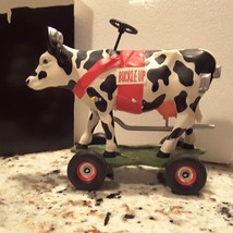 Cow Parade 9144 BUCKLE UP BETSY, Cow Figurine N... - $5.00