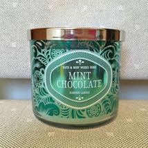 Bath & Body Works 14.5oz. *MINT CHOCOLATE* 3 Wick Candle - $49.99