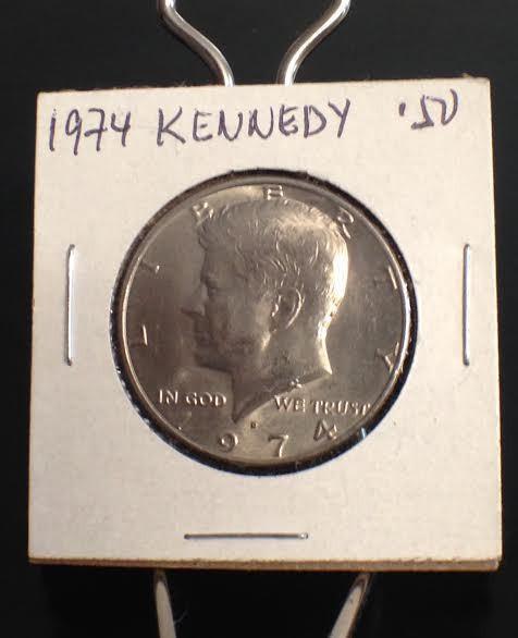 1974 D Kennedy Half Dollar - $8.00