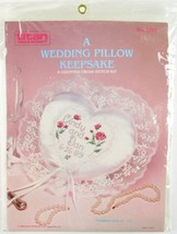 NOS Titan Needlecraft A Wedding Pillow Keepsake Counted Cross Stitch Kit... - $14.99