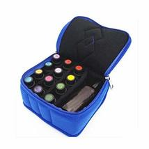 For Travel and Home Essential Oil Carrying CasePortable Handle Bag 13 Slots