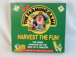 THE FARMING GAME 20th Anniversary Edition 1999 NEAR MINT 100% COMPLETE - $32.67