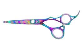 washi black zebra shear hollow ground best professional hairdressing sci... - $145.00