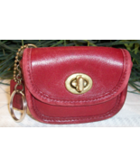 Coach Vintage Vtg Leather Turnlock Coin Purse K... - $24.00