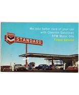 1968 Chevron Gas Station Tune-up Reminder Postcard - $9.00