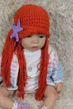 New Handmade  Knit Crochet Infant Baby Child Kids The Little Mermaid Hat... - $9.99