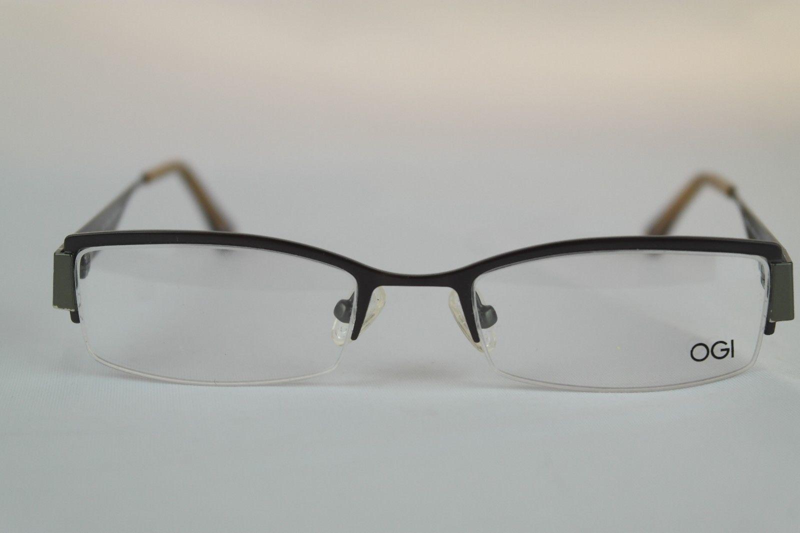 Designer Glasses Half Frame : OGI Evolution Eyeglasses Designer Frames Unisex (48 18 140 ...