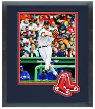 "11"" x 14"" Framed & Matted Will Middlebrooks Boston Red Sox- Studio Photo... - $43.95"