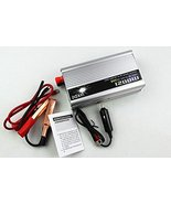 Portable Car 1200 Watt DC 12V to AC 110V Power Converter Transformer Sup... - $34.95