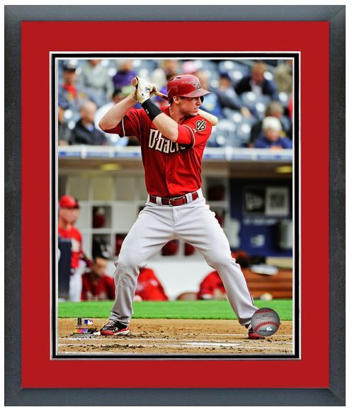 "11"" x 14"" Framed & Matted Paul Goldschmidt Diamondbacks- Studio Photo Pluses"