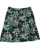 Womens Apostrophe 10 M Black & Green Abstract L... - $14.00