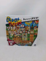 Charles Fazzino Master of 3D Pop Art The Lights of London Puzzle 1000 Pi... - $24.74