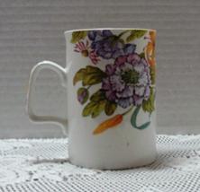 Vintage WESTBURY Fine Bone China COFFEE MUG Floral Design Coffee Cup - $8.00