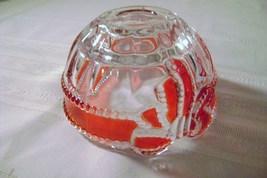 Mikasa Ruby Ribbon Crystal Tealight Holder image 2