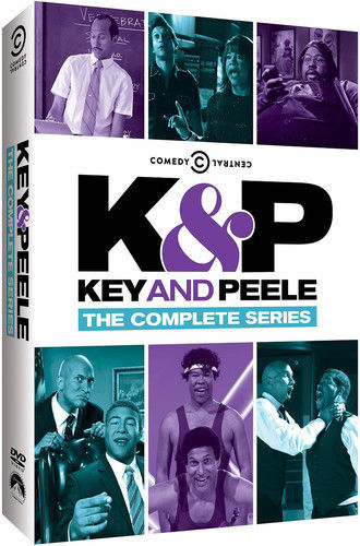 Key & Peele: The Complete Series (DVD Box Set) New! Comedy Central TV Show K&P