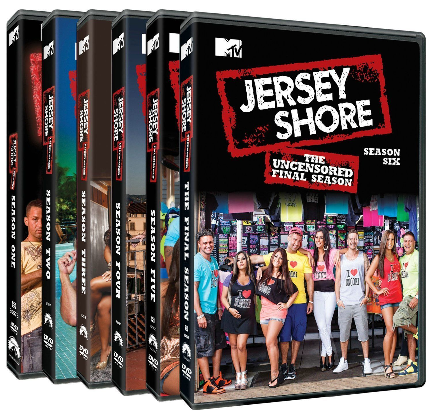 Jersey Shore: The Complete Series (DVD Set New) TV Show