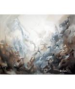 "Huge 40x60"" ACRYLIC ABSTRACT MODERN DECOR CANVAS WALL ART #5 -: rdoward ... - $296.01"