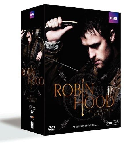 Robin Hood: The Complete Series [15 Discs] DVD Set New BBC TV Show