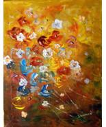 ORIGINAL ACEO #9 Floral Art Print -: rdoward fine art - $5.94