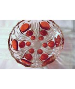 Ruby Thumbptint Candy Dish - $12.00