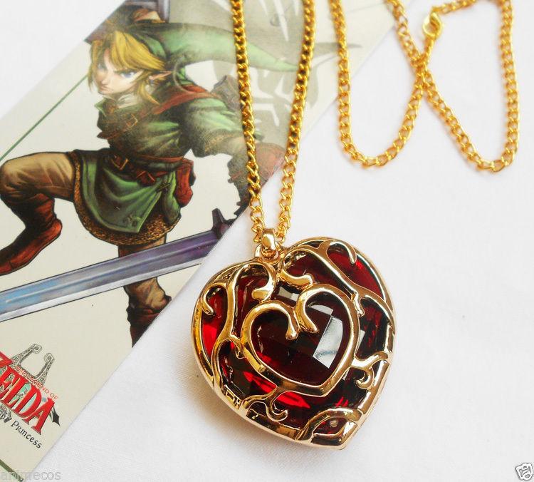 2PCS Legend Of Zelda Skyward Sword Heart Container
