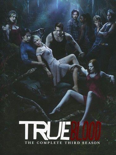 True Blood: The Complete Third Season 3 (DVD Set) New TV Series