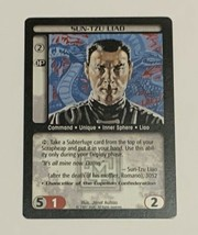 Battletech Sun-Tzo Liao TCG 1996 CCG Wizards of the Coast Trading Card - $5.93