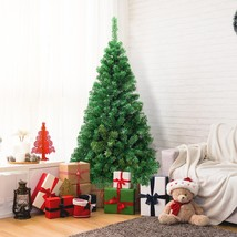 6FT / 7FT / 8FT Green PVC Artificial Christmas Tree - $66.26+