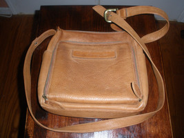 FOSSIL VINTAGE  Brown Leather Shoulder adjustable strap WOMEN  BAG  - $27.71