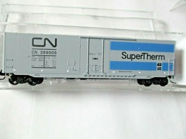 Micro-Trains # 18100090 Canadian National 50' Standard Box Car N-Scale image 1