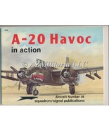 A-20 Havoc In Action Aircraft No. 56 - $19.75