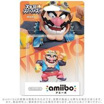 Nintendo Amiibo WARIO Figure Super Smash Brothers 3DS Wii U From Japan - $19.00