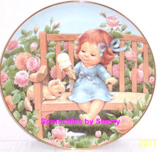 Sweet Treat Ice Cream Blessed Are Ye Collector Plate Danbury Mint Retired - $59.95