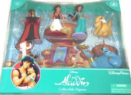 Disney Aladdin Princess Jasmine Figure Set Sultan Rajah Genie Jafer Theme Parks - $49.95