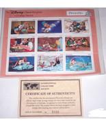 Disney Pinocchio Classic Fariytales Postage Sta... - $34.95