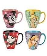 Disney Store Coffee Mug Minnie Mickey Mouse Alice Sketchbook Ceramic - $59.95+