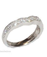 Extra Band for Solid Sterling Silver Cubic Zirc... - $12.99