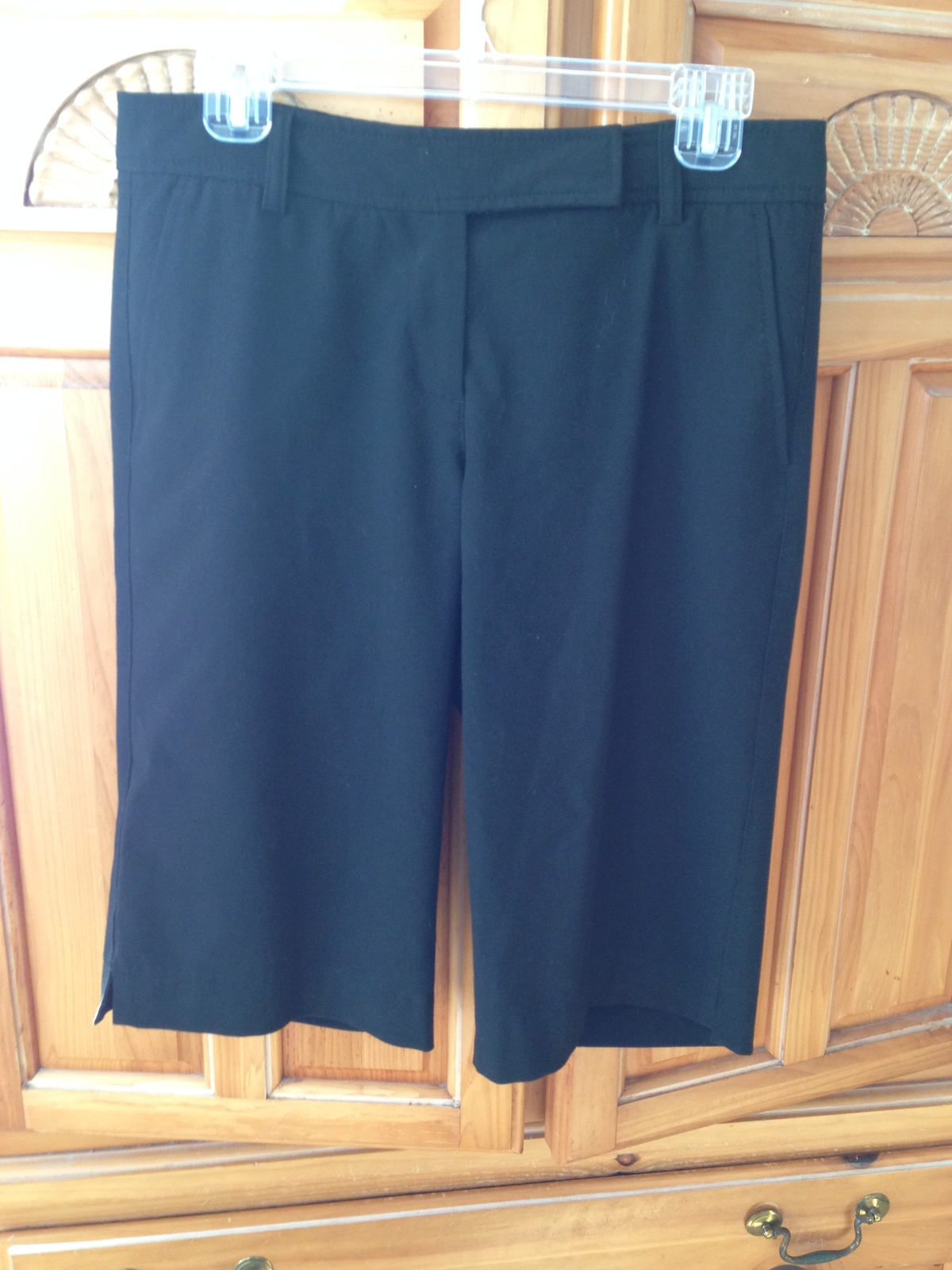 women's black shorts by inc size 6 - $24.99