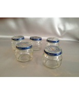 Baby Food Jars, Glass Jar Lot of 5, Storage Jar... - $5.00