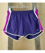 NIKE DRI-FIT women's tempo athletic shorts pants L/Large purple - $13.81