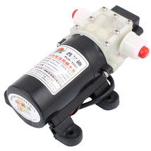 DC 12V 20W 2.9L/min Micro Motor Pump 10mm Thread Outlet Inlet Diaphragm ... - $24.71