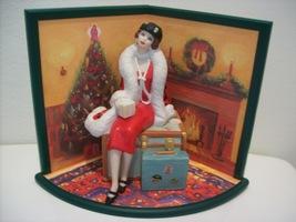 1997 Hallmark Holiday Voyage Barbie Doll & Display Card - $50.00