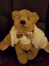 "Gund Bear 12"" Rusty Fully Jointed Mohair 1990 - $48.51"