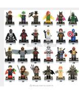 Lot  24Pcs MiniFigures Lego Super Heroes MARVEL... - $24.99