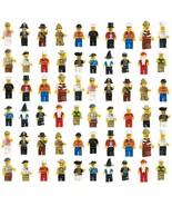 60Pcs Grab Bag Lot of Minifigures Figures Men P... - $21.99