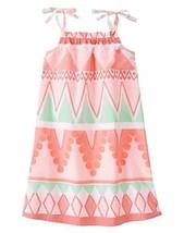 Gymboree Dress Island Cruise Tribal Print Sun Dress NWT 6 10 Coral Mint ... - $13.99