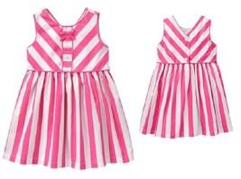Gymboree Fruit Punch Pink Striped Dress NWT Many Sizes - $11.29+